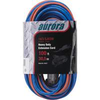 Triple Tap All-Weather TPE-Rubber Extension Cords with Light Indicator XH237 | Calgary Warehouse Equipment
